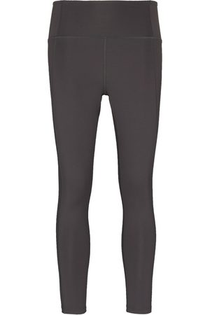 GIRLFRIEND COLLECTIVE Stretch-fit seam detail leggings - Grey