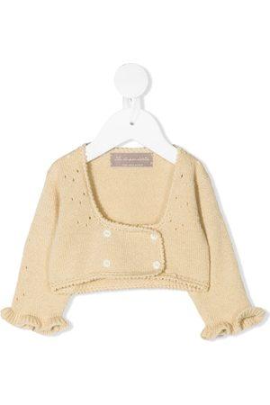 La Stupenderia Baby Boleros - Intarsia-knit bolero jacket