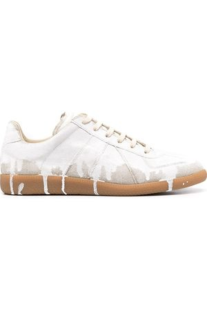 Maison Margiela Replica paint-print sneakers