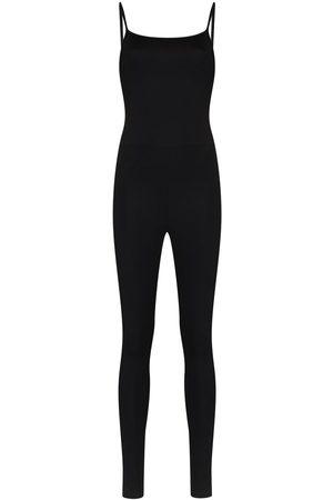 GIRLFRIEND COLLECTIVE Spaghetti-strap performance jumpsuit