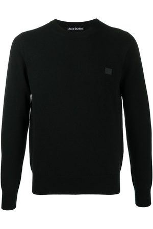 Acne Studios Face patch wool jumper