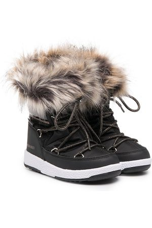 Moon Boot Girls Ankle Boots - ProTECHt Monaco low snow boots