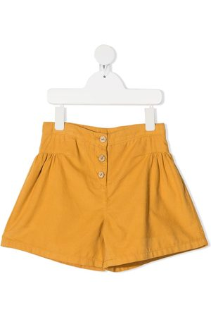 KNOT High-rise corduroy shorts