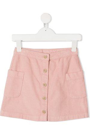 KNOT Girls Skirts - Shimbou button-down skirt