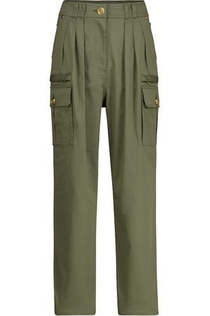 Balmain High-rise slim pants
