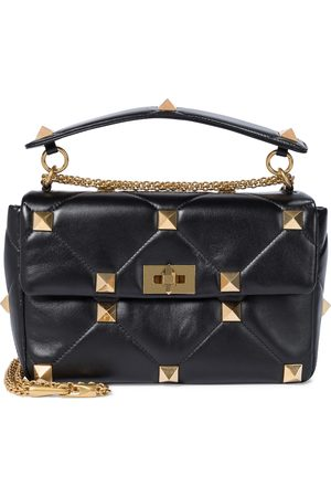 VALENTINO GARAVANI Exclusive to Mytheresa – Roman Stud Small leather shoulder bag