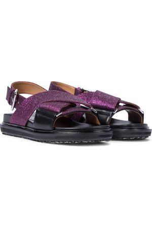 Marni Fussbett glitter sandals