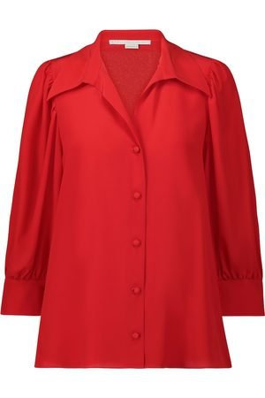 Stella McCartney Willow silk-crêpe shirt