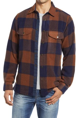 Fjällräven Men's Canada Buffalo Check Button-Up Shirt
