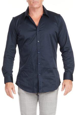 Johnny Bigg Men's Bahamas Regular Fit Stretch Button-Up Shirt