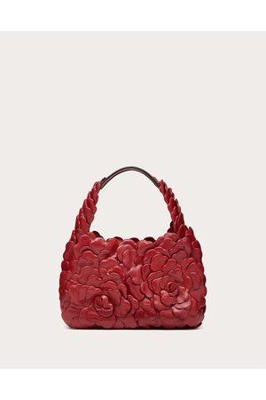 VALENTINO GARAVANI Women Shoulder Bags - Small 03 Rose Edition Atelier Hobo Bag Women Rosso Valentino Lambskin 100% OneSize
