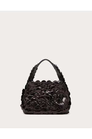 VALENTINO GARAVANI Small 03 Rose Edition Atelier Hobo Bag Women Lambskin 100% OneSize