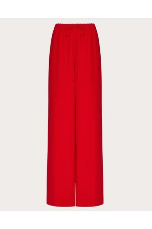VALENTINO Cady Couture Pants Women Silk 100% 38