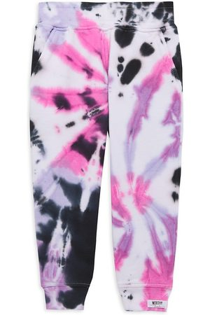 Worthy Threads Little Girl's & Girl's Tie-Dye Joggers - - Size 6-8