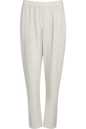 Eileen Fisher Navy silk trousers