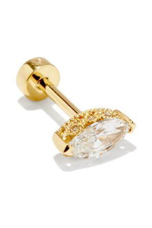 Maria Tash Women Earrings - Diamond & 18kt Single Earring - Womens