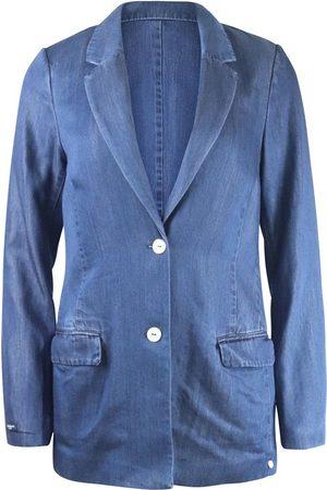Scotch&Soda Scotch & Soda Ams Blauw Chic Denim Tencel Blazer