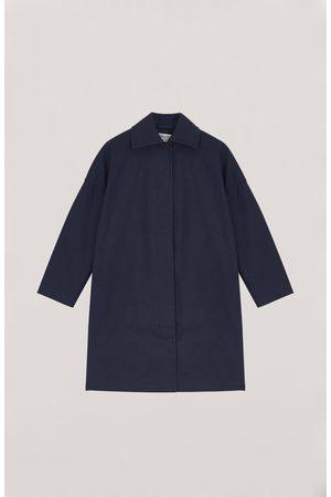 YMC Cocoon Coat - NAVY