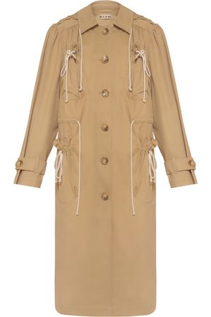 flow Trench Coat