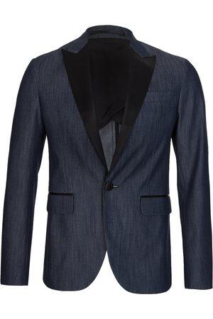 Dsquared2 Men Denim Jackets - Tokyo 1 Button Blazer Denim