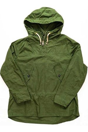 Yarmouth Oilskins Hooded Smock Forest