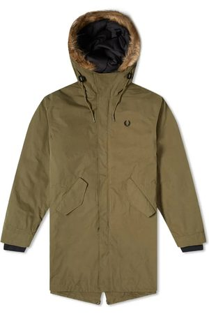 Fred Perry Authentic Zip Primaloft Lined Parka Bristish Olive