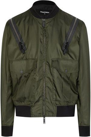 Dsquared2 Zip Shoulder Bomber Jacket