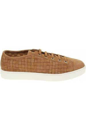 santoni Lace up sneakers suede