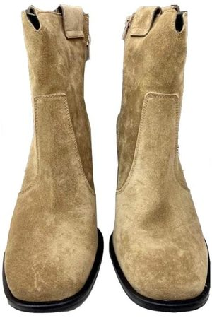 Kennel & Schmenger Suede Ankle Boots in Wood 41-79050-269