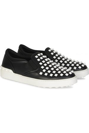 VALENTINO Studded Slip On Sneakers