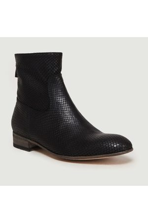 ANTHOLOGY PARIS 7227 Boots Python Noir