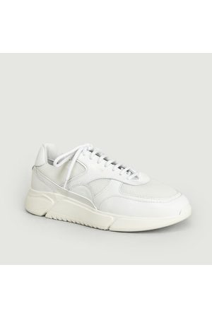 Axel Arigato Genesis Leather And Mesh Sneakers