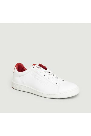 Le Coq Sportif Blazon Red Trainers Blanc Gueules