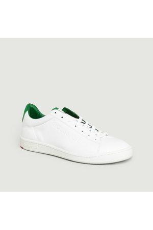Le Coq Sportif Blazon Green Trainers Blanc Sinople