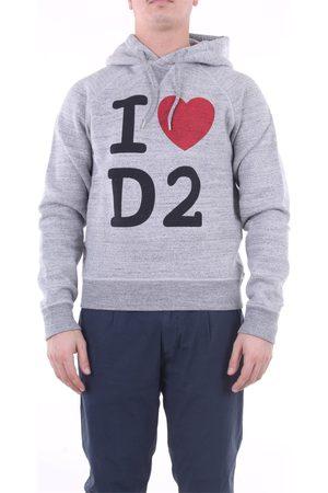 Dsquared2 Sweatshirts Hoodies Men Grey