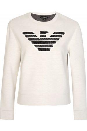 Armani Armani Jeans Womens Neoprene Sweatshirt