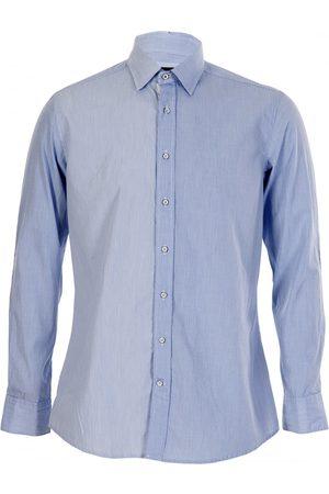 Hackett Micro Design Sky Blue Shirt
