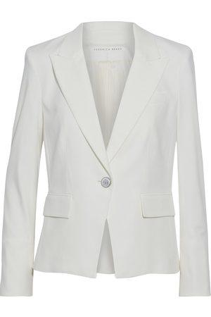 VERONICA BEARD Woman Danielle Dickey Cotton-blend Blazer Ivory Size 10