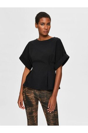 Selected Women T-shirts - Cleo Jersey Tee