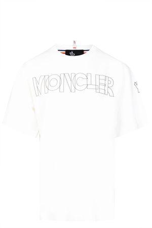 Moncler Womens Text Logo Tee