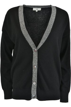 Jeff Women Cardigans - LUCAS Lurex V Neck Cardigan