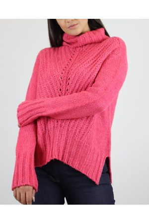 CECILIA PRADO Raspberry Sweater