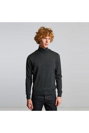 L'exception Paris Men Turtlenecks - Merino wool turtleneck jumper Khaki