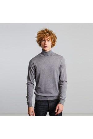 L'exception Paris Men Turtlenecks - Merino wool turtleneck jumper Gris clair