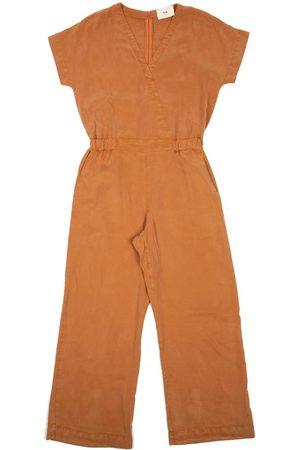 FOLK CLOTHING FOLK Wrap Jumpsuit - DUSTY TEAK