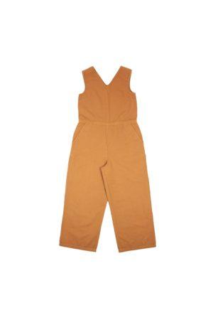 FOLK CLOTHING FOLK V Overall Jumpsuit - TEAK