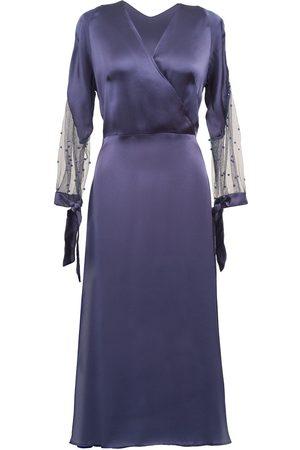 Anna Etter Navy Midi Dress Issy