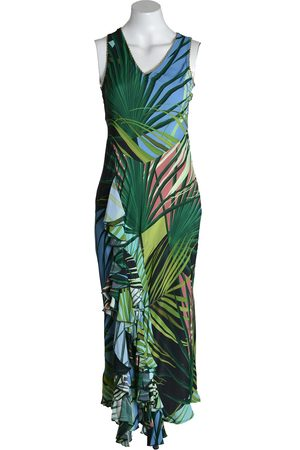 Bl-nk Blank Dress EMIKA Long Strap Palm Print