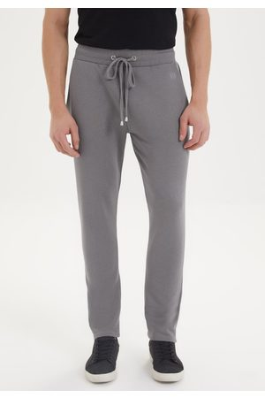 WESTMARK LONDON Men Pants - ESSENTIALS SWEATPANT in Charcoal Grey