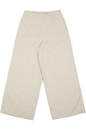 FOLK CLOTHING FOLK Clean Wide Pants - STONE
